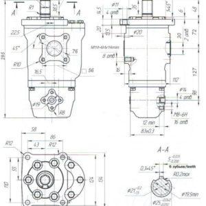 Насос шестеренный НШ 50-10Д-3 / НШ 50-10Д-3Л